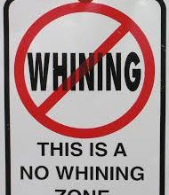 Parenting Tip: Ignore Whining